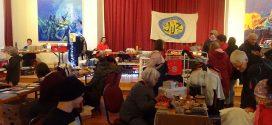 Trubelig – Das Amrumer Jugendzentrum lud im Norddorfer Gemeindehaus zum Flohmarkt ein…