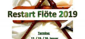 Restart Flöte 2019: musikalisches Projekt auf Amrum