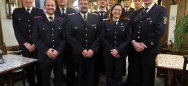 Neuzugänge, Beförderungen und Ehrungen auf der Jahreshauptversammlung der Freiwilligen Feuerwehren Süddorf-Steenodde …