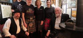 Haggis, Tatties, Whiskey und schottische Musik – Burns Night in der Blauen Maus …