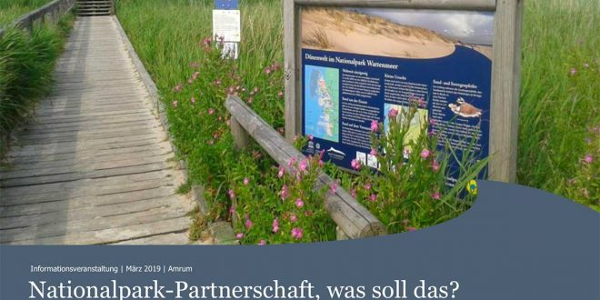 "Informationsveranstaltung "" Nationalpark-Partner werden"" am 28.03.2019"