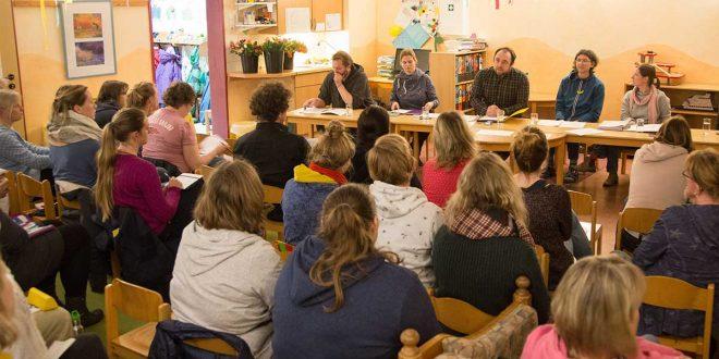 Eine umfangreiche Jahreshauptversammlung beim Kindergarten…
