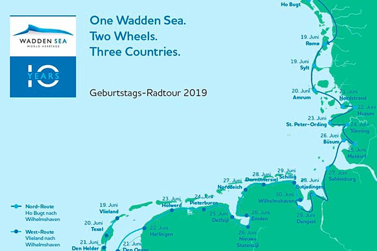 Karte Sylt Amrum.Amrum Feiert Jubiläum 10 Jahre Weltnaturerbe Wattenmeer